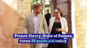 Happy Birthday, Prince Harry! (Sunday, September 15th) [Video]