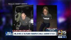 Escaped Tucson murder suspects Blane and Susan Barksdale in custody, sheriff's office says [Video]