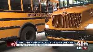Technology tracks Raytown school buses, alerts parents of drop off and pick up [Video]
