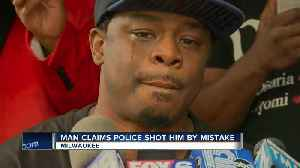 'I want him fired': Man claims he was shot by Milwaukee Police officer [Video]