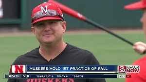 Will Bolt holds first practice as Huskers head coach [Video]