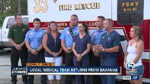 Team of doctors, nurses, pharmacists and paramedics from the Treasure Coast help treat sick and injured in the Bahamas [Video]