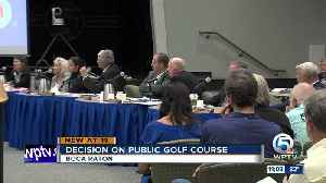 No vote on how to fund new public golf course in Boca Raton [Video]