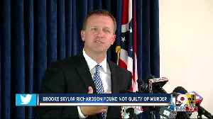 Brooke Skylar Richardson in jail, but not guilty of murder [Video]