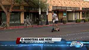 E-scooters arrive in Tucson [Video]