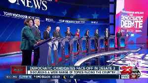 Democratic candidates face-off in third debate [Video]