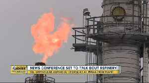 Rashida Tlaib, Detroit residents 'demanding accountability' after oil vapor leak at Marathon refinery [Video]
