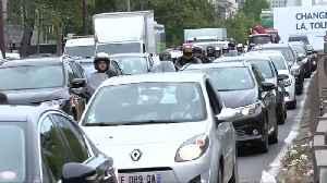 Paris commuters take to roads as strike shuts down metro network [Video]