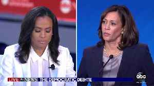 News video: ABC debate moderator destroys Kamala Harris
