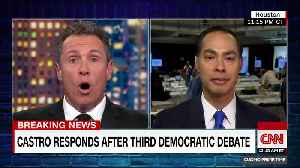 Chris Cuomo questions Julian Castro about attack on Biden [Video]