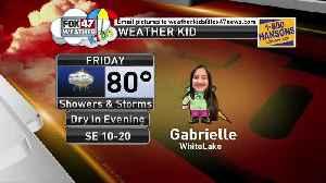 Weather Kid - Gabrielle [Video]