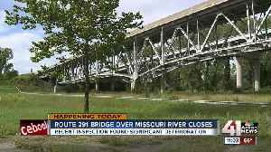 Inspection reveals 'significant deterioration' on 291 bridge [Video]