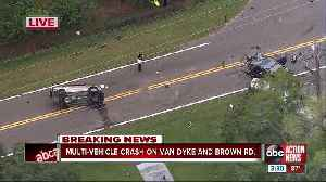 1 person in critical condition after multiple-car crash [Video]