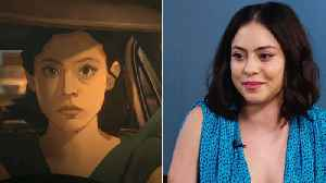 'Undone' Star Rosa Salazar Talks Using Rotoscope Animation to Create Amazon Series, Gushes Over Co-Star Bob Odenkirk | In Studio [Video]