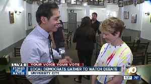 San Diego Democrats outline debate issues [Video]