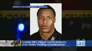 Former NFL Player Terrell Roberts Shot While Visiting Grandmother [Video]