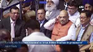 Feroz Shah Kotla renamed as Arun Jaitley Stadium, pavilion stand after Virat Kohli [Video]