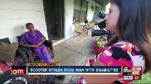 Clearwater man pleads for return of his stolen electric scooter [Video]
