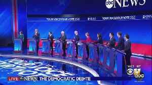 News video: 2020 Democratic Candidates Leave Viewers Shocked In Debate