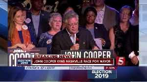 John cooper wins Nashville race for mayor [Video]