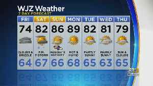 Bob Turk Has An Updated Look At Your Forecast [Video]