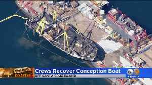 NTSB Issues Preliminary Report As Crews Raise Wreck Of Boat [Video]