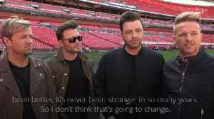 What do Westlife think of Brexit? [Video]