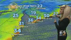 Friday Morning Weather: Cooler And Windy Friday [Video]