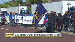News video: UAW contract with GM expires Saturday night