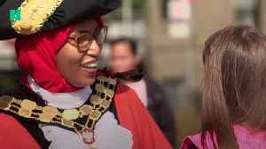 News video: Meet Rakhia Ismail , Islington's Hijab-Wearing Mayor