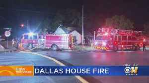 Body Of Woman Found After Dallas House Fire Extinguished [Video]