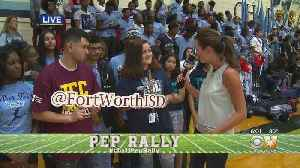 CBS 11 Pep Rally: O.D. Wyatt High School AVID Program [Video]