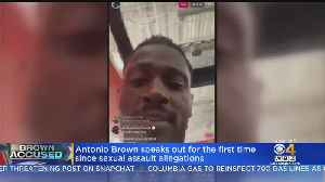 Antonio Brown Works Out At TB12 Center, Speaks Out About Sexual Assault Allegations [Video]