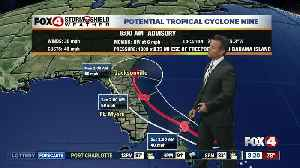 News video: Tropical Storm Humberto expected to develop in the next 24hrs