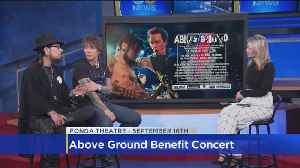 Dave Navarro And Billy Morrison Talk About The Above Ground Benefit Concert [Video]