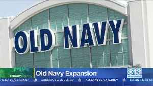 News video: Moneywatch: Old Navy Plans To Open Hundreds More Stores