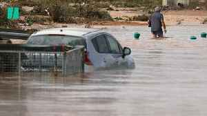 Three Killed As Heavy Rainfall And Flooding Causes Chaos In Spain [Video]