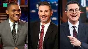 Late Night Hosts Laugh About Third Democratic Debate [Video]
