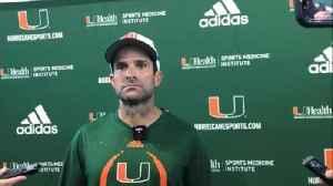 Manny Diaz talks team ahead of Week 3 against Bethune-Cookman [Video]
