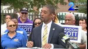 News video: City Council President Brandon Scott announces run for Mayor of Baltimore