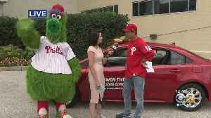 Phillies Team Up With Toyota For Car Giveaway On Fan Appreciation Day [Video]