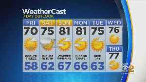 New York Weather: CBS2 9/13 Friday Afternoon Forecast [Video]