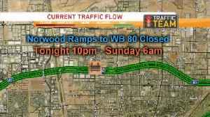 Weekend Traffic Alert: Extended Closures On I-80 Ramps At Norwood [Video]