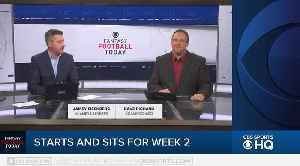 Fantasy Football Today 2019: Week 2 Start/Sit [Video]