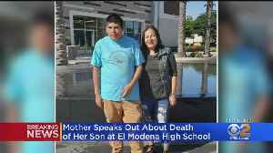 'He Was Always Smiling': Mother Speaks Out About Son's Death In El Modena High Golf Cart Crash [Video]