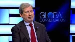News video: EU Commissioner Johannes Hahn defends 'European way of life' portfolio