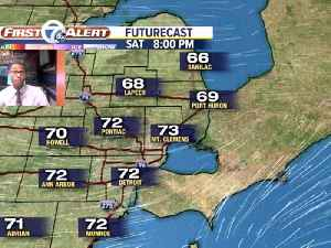 Severe weather in Metro Detroit [Video]