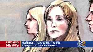 Felicity Huffman Sentenced To Jail In College Admissions Scandal [Video]