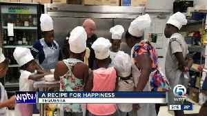 Chef has recipe that puts smiles on faces of kids impacted by Hurricane Dorian [Video]