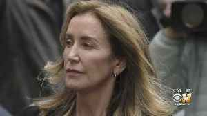 Felicity Huffman Gets Sentenced 2 Weeks In Prison [Video]